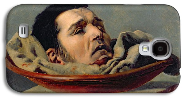 Guillotined Head Galaxy S4 Case by Francois Gabriel de Becdelievre
