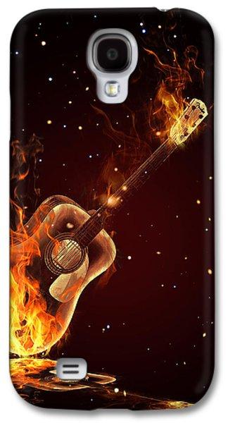 Guitar  Galaxy S4 Case
