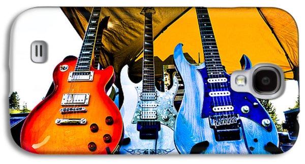 Guitar Trio Galaxy S4 Case by David Patterson