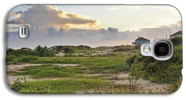 Gulf Coast Galveston Tx Galaxy S4 Case by Christine Till