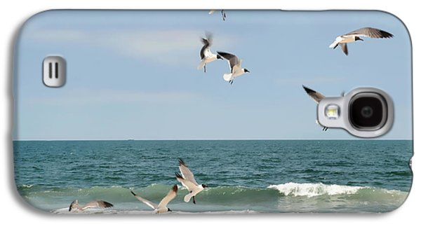 Gulls A Dance'n Galaxy S4 Case by Diana Angstadt