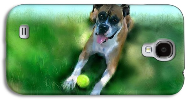 Gus The Rescue Dog Galaxy S4 Case by Colleen Taylor