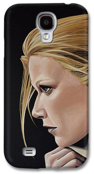 Gwyneth Paltrow Painting Galaxy S4 Case by Paul Meijering