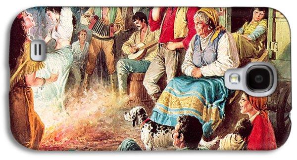 Gypsies Partying Galaxy S4 Case