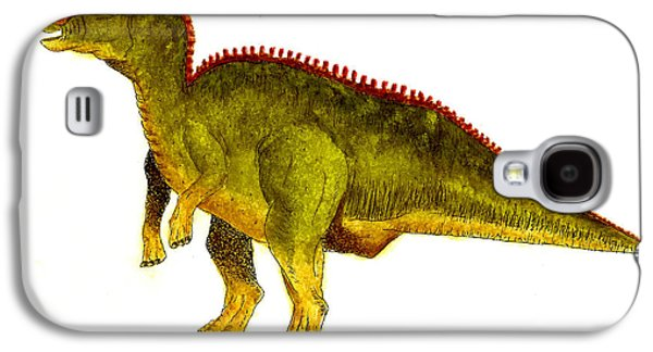 Hadrosaurus Galaxy S4 Case by Michael Vigliotti