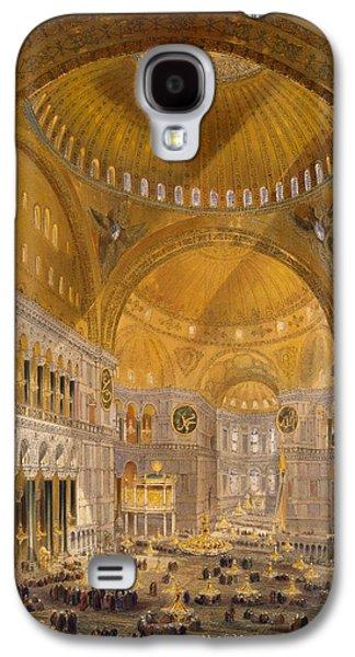 Hagia Sophia, Constantinople, 1852 Galaxy S4 Case by Gaspard Fossati