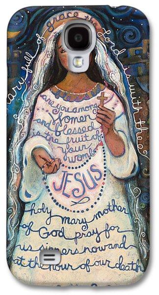 Hail Mary Galaxy S4 Case by Jen Norton