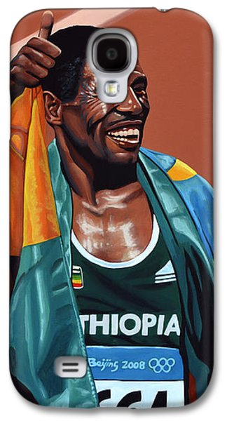 Haile Gebrselassie Galaxy S4 Case by Paul Meijering
