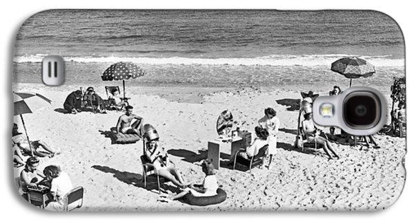 Hair Salon On The Beach Galaxy S4 Case