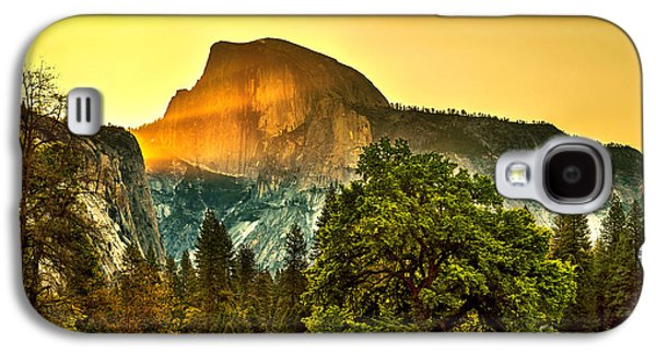 Yosemite National Park Galaxy S4 Case - Half Dome Sunrise by Az Jackson