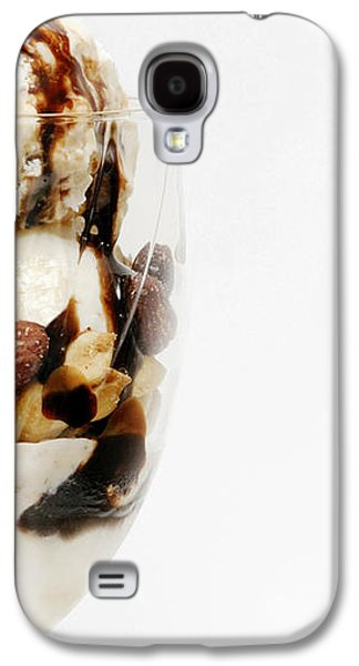 Half The Calories Half The Fat Right Side Galaxy S4 Case by Andee Design
