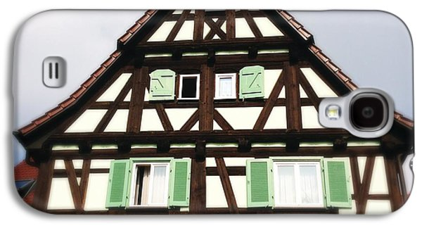 House Galaxy S4 Case - Half-timbered House 01 by Matthias Hauser