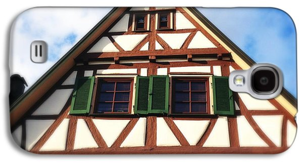 House Galaxy S4 Case - Half-timbered House 02 by Matthias Hauser
