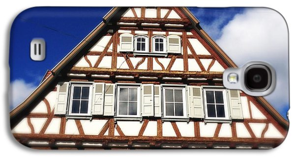 House Galaxy S4 Case - Half-timbered House 03 by Matthias Hauser