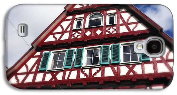 House Galaxy S4 Case - Half-timbered House 04 by Matthias Hauser
