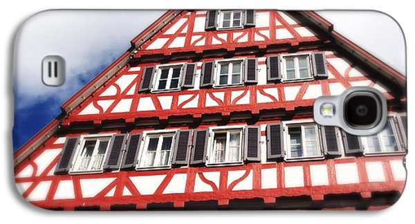 House Galaxy S4 Case - Half-timbered House 06 by Matthias Hauser