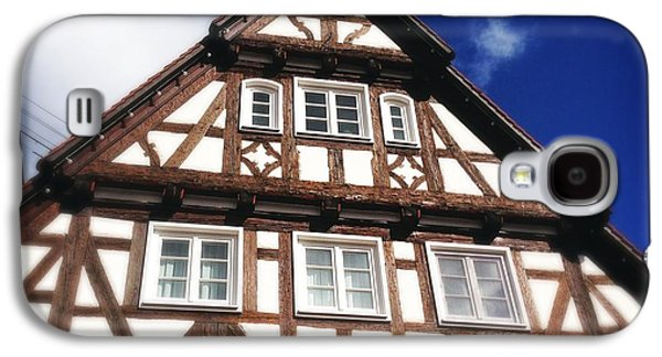 House Galaxy S4 Case - Half-timbered House 08 by Matthias Hauser