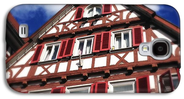House Galaxy S4 Case - Half-timbered House 09 by Matthias Hauser
