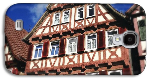 House Galaxy S4 Case - Half-timbered House 10 by Matthias Hauser