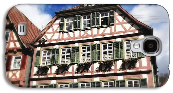 House Galaxy S4 Case - Half-timbered House 11 by Matthias Hauser