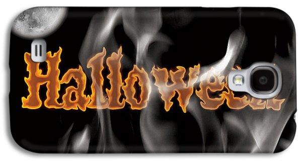Halloween Galaxy S4 Case by Angela Pelfrey