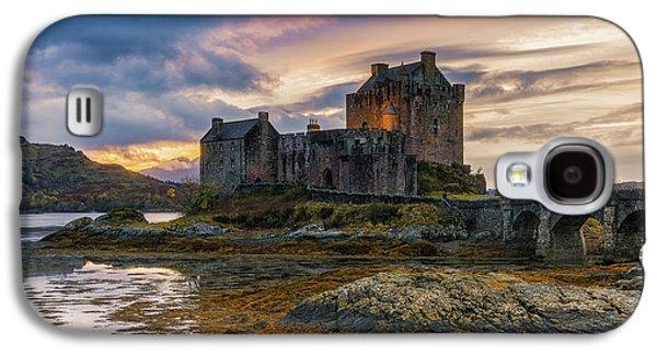 Castle Galaxy S4 Case - Halloween Colours by Adrian Popan