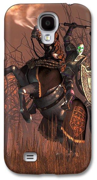 Halloween Knight Galaxy S4 Case
