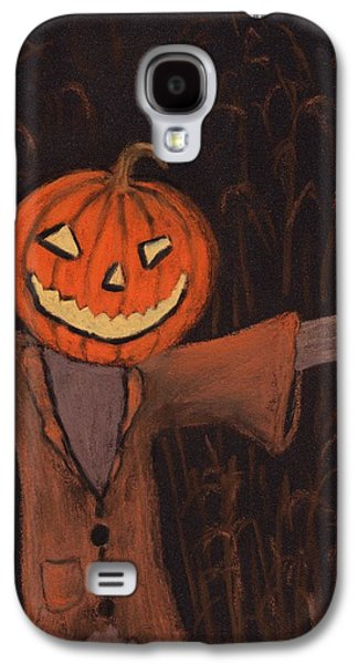 Halloween Scarecrow Galaxy S4 Case by Anastasiya Malakhova
