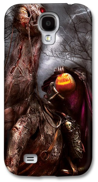 Halloween - The Headless Horseman Galaxy S4 Case by Mike Savad