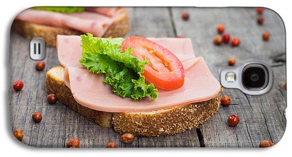 Lettuce Galaxy S4 Case - Ham Sandwich by Aged Pixel