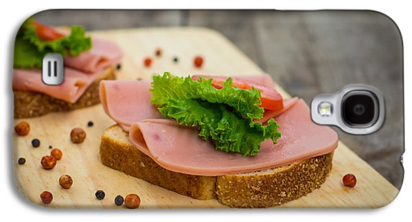 Lettuce Galaxy S4 Case - Ham Sandwiches by Aged Pixel
