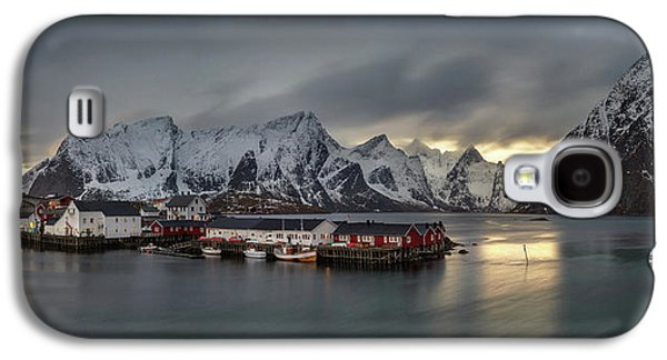 Hamnoy Village On Lofoten, Nordland Galaxy S4 Case