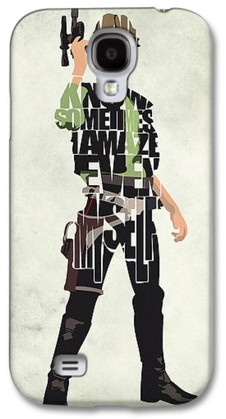 Han Solo Vol 2 - Star Wars Galaxy S4 Case by Ayse Deniz