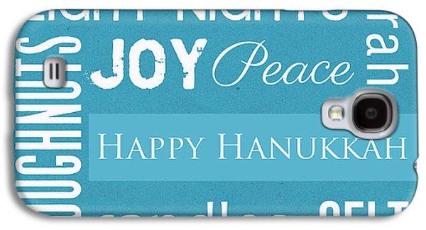 Hanukkah Fun Galaxy S4 Case by Linda Woods