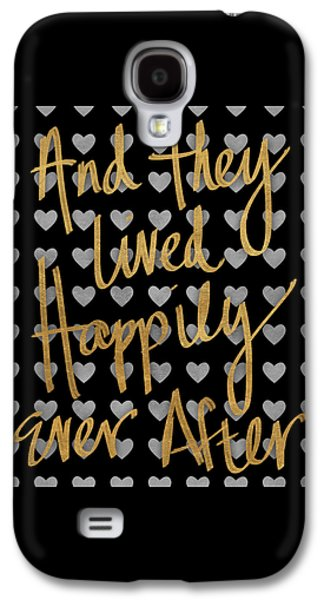 Happily Ever After Pattern Galaxy S4 Case by South Social Studio
