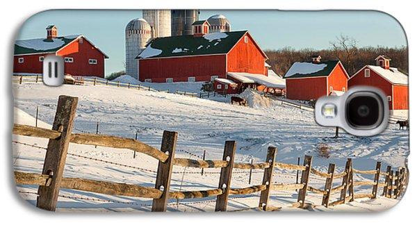 Happy Acres Farm Galaxy S4 Case by Bill Wakeley