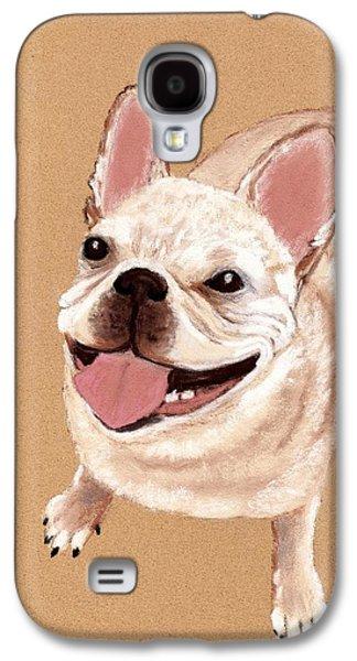 Happy Dog Galaxy S4 Case by Anastasiya Malakhova