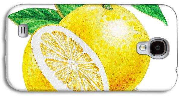 Happy Grapefruit- Irina Sztukowski Galaxy S4 Case by Irina Sztukowski