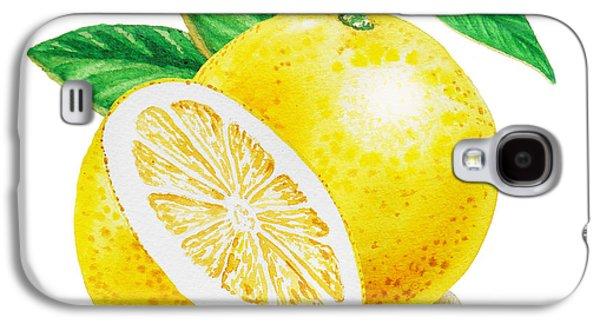 Happy Grapefruit- Irina Sztukowski Galaxy S4 Case