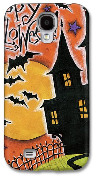 Happy Halloween Galaxy S4 Case by Anne Tavoletti