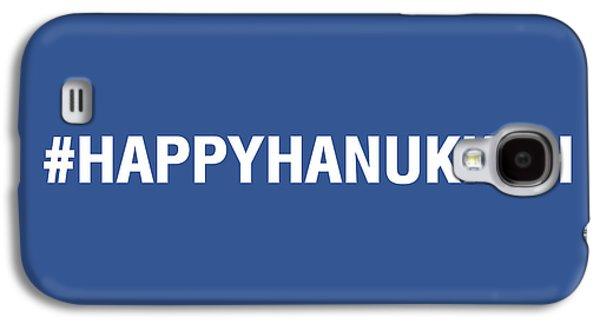 Happy Hanukkah Hastag Galaxy S4 Case