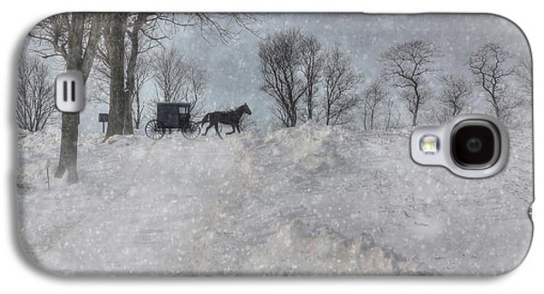 Happy Holidays From Pa Galaxy S4 Case by Lori Deiter
