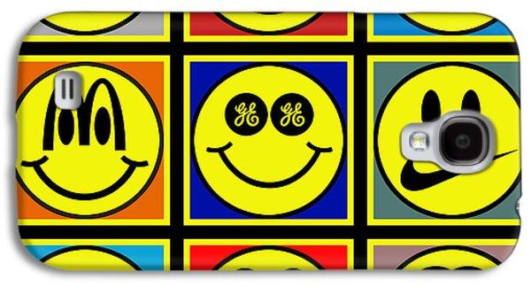Happy Logos Galaxy S4 Case
