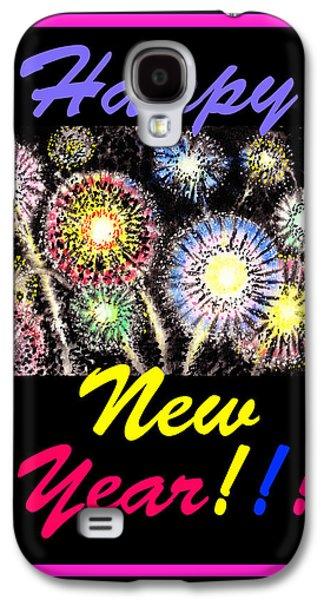 Happy New Year Galaxy S4 Case by Irina Sztukowski