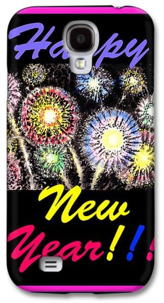 Happy New Year Galaxy S4 Case