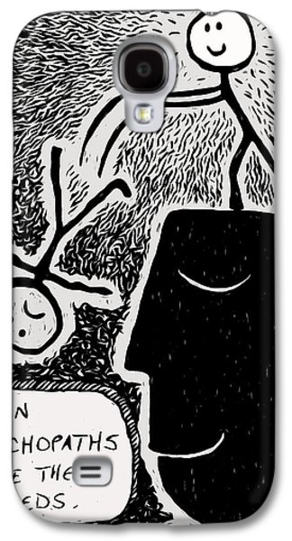 Happy Thoughts Galaxy S4 Case by e9Art