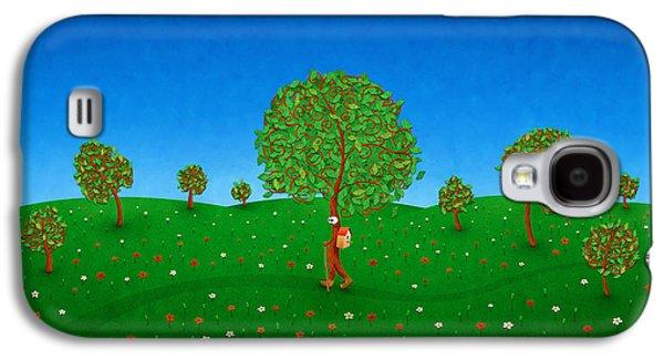 Happy Walking Tree Galaxy S4 Case by Gianfranco Weiss