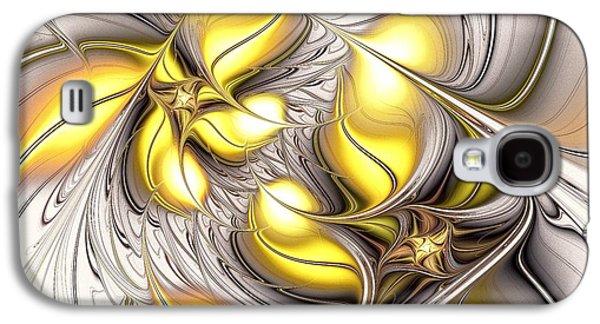 Happy Yellow Galaxy S4 Case