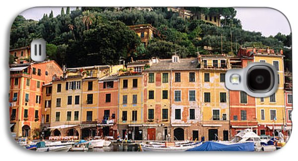 Harbor Houses Portofino Italy Galaxy S4 Case by Panoramic Images