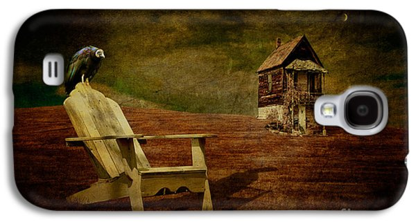 Hard Times Galaxy S4 Case by Lois Bryan